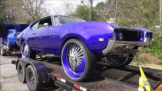 Veltboy314 - Candy Blue '69 Olds Cutlass On 28