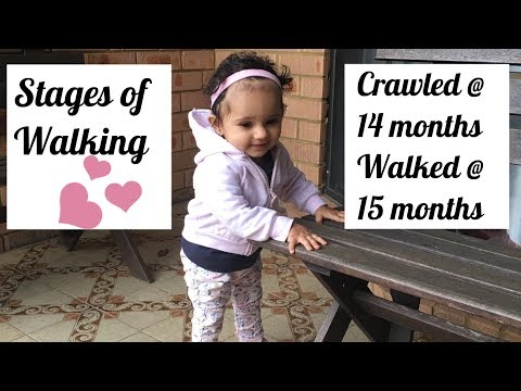 Visual Stages to Walking