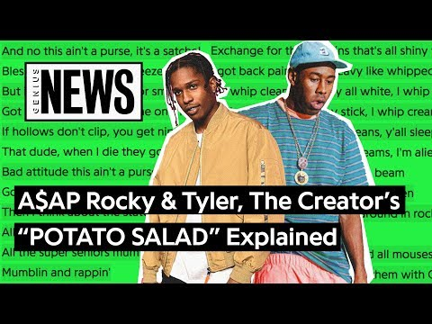 "A$AP Rocky & Tyler, The Creator's ""POTATO SALAD"" Explained 