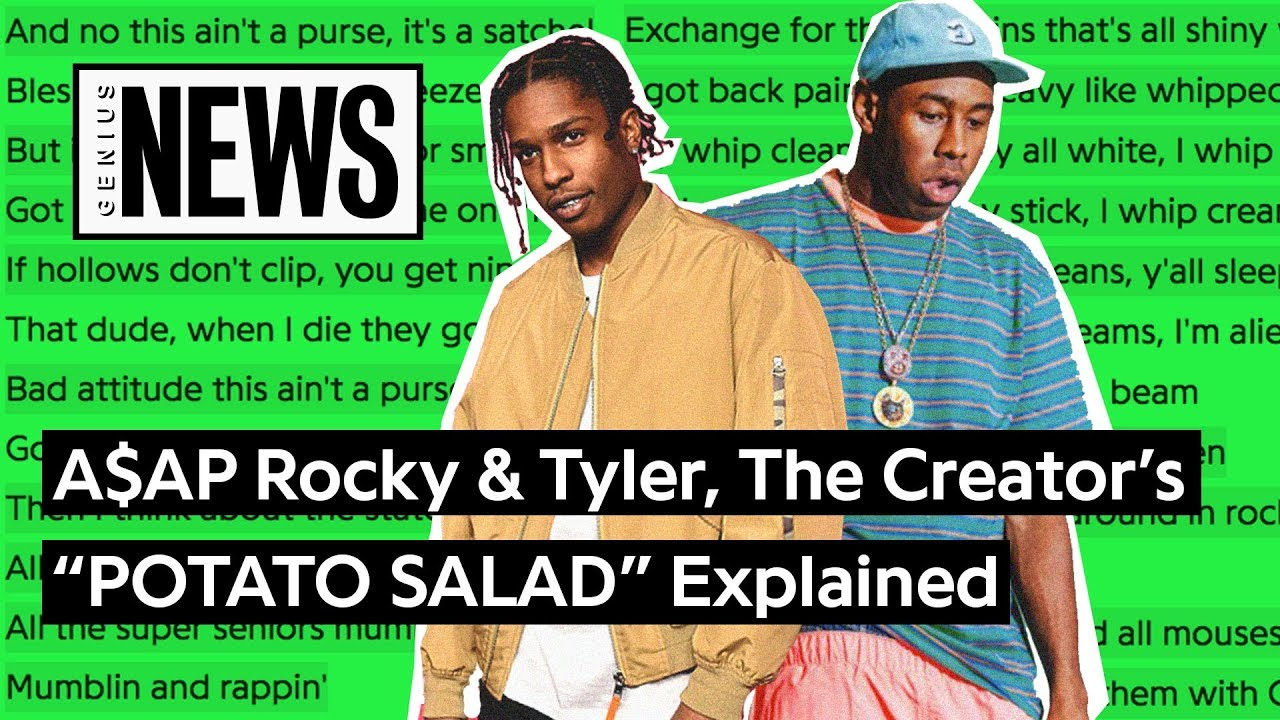Aap Rocky Tyler The Creators Potato Salad Explained Song Stories
