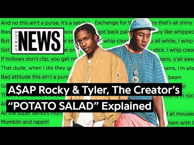Aap Rocky Tyler The Creators Potato Salad Lyrics