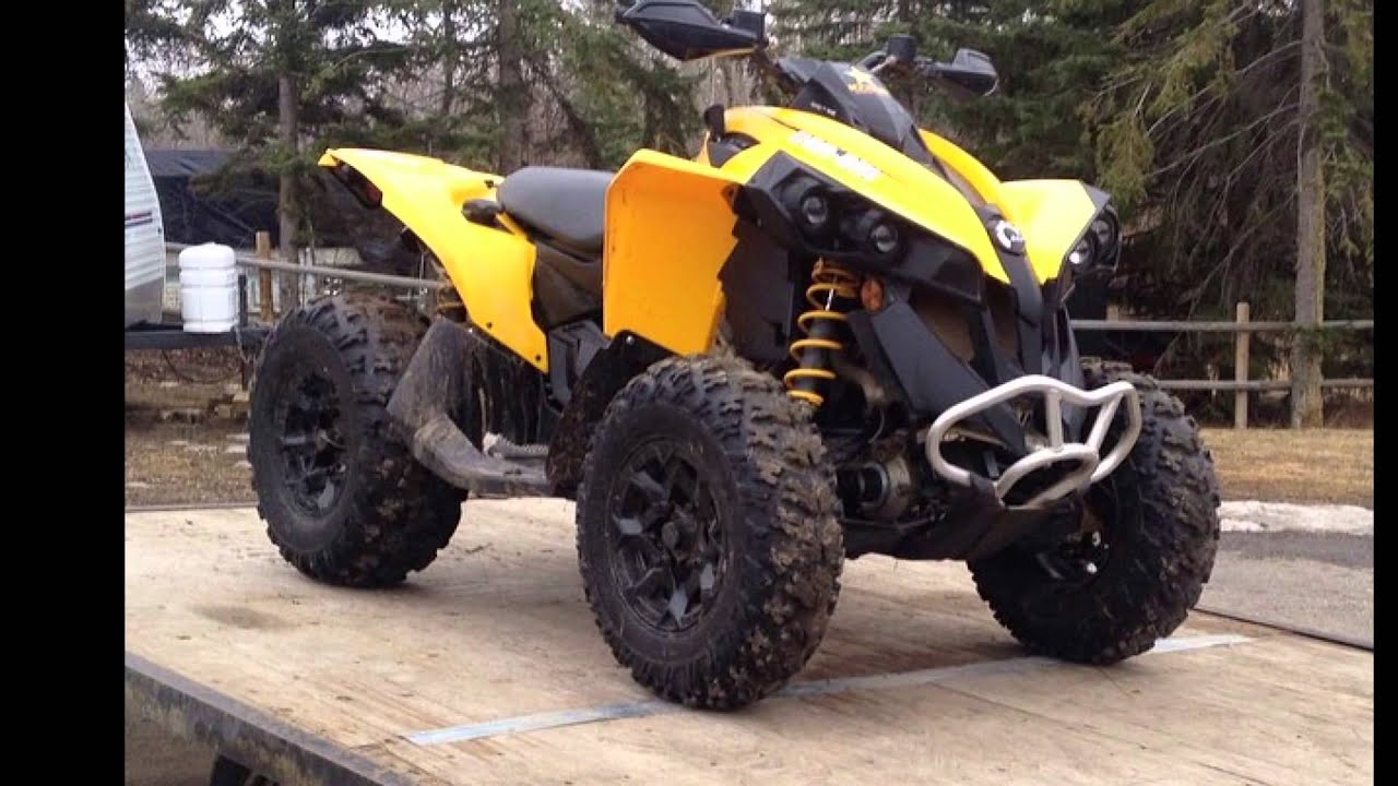 2014 can-am renegade 500 - YouTube