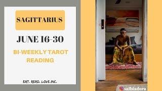 "SAGITTARIUS - ""CAN LOVE SAVE THIS RELATIONSHIP?"" JUNE 16-30 BI-WEEKLY TAROT READING"