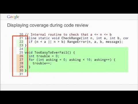 GTAC 2014: Test coverage at Google