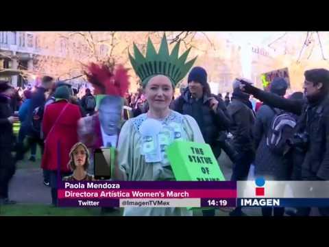 Women's Rights March 21 de enero: entrevista con Paola Mendoza