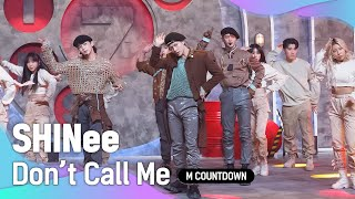 Download '최초 공개' 빛나는 '샤이니'의 'Don't Call Me' 무대