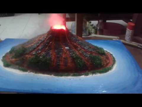 [SV] Bách Khoa - Núi lửa phun trào( shield volcano ) Mô hình (architecture)