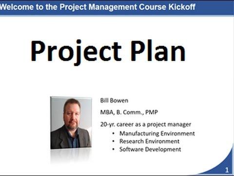 Project Plan Walkthrough
