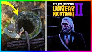 If You Go Down This Well In Red Redemption 2 Something SPOOKY Will Happen To You! (Undead Nightmare)