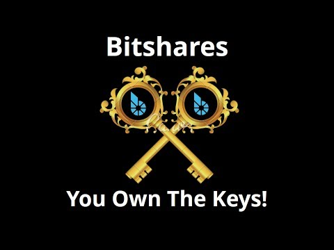 Bitshares - You Own The Keys To Your Crypto Assets