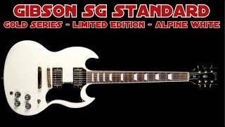 Gibson SG Standard - Limited Edition Alpine White (Gold Series)! Smokin' Hot!!!