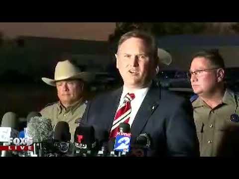 Texas church shooting press conference