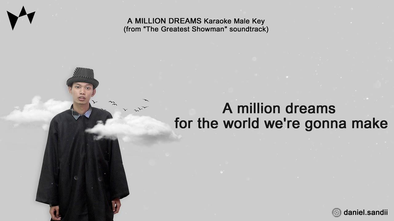 a million dreams karaoke