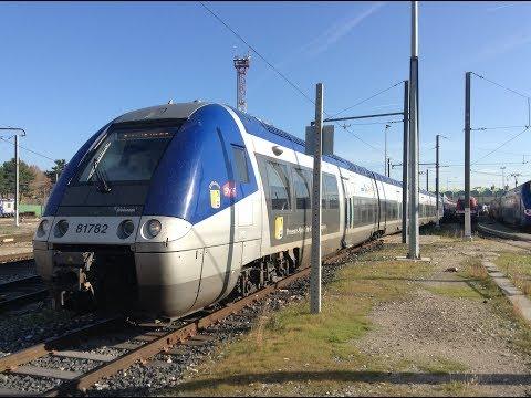 Aix en Provence à Marseille St Charles Cab drive Voyage en cabine BGC B81500 PACA
