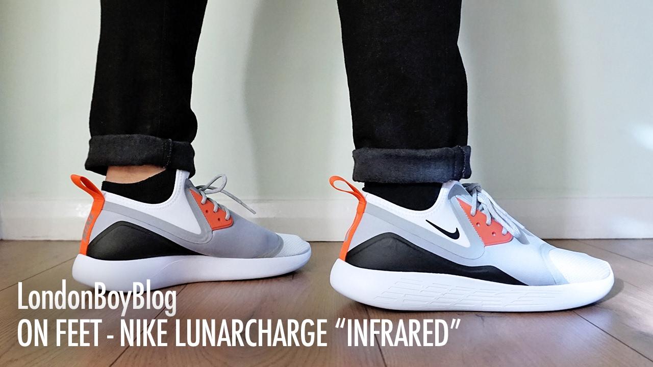 On Feet Nike Lunarcharge LE