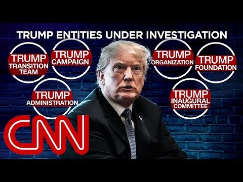 Donald Trump the focus of at least 6 investigations