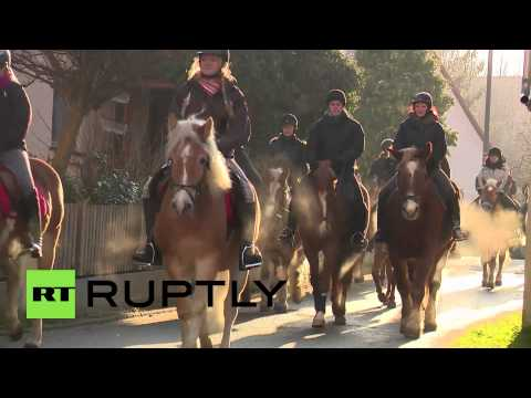 Germany: See annual festive Bavarian horse pilgrimage