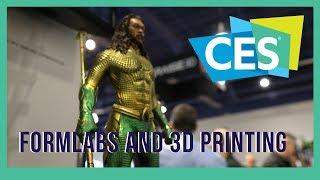 CES 2019 Formlabs DESKTOP 3D Printers