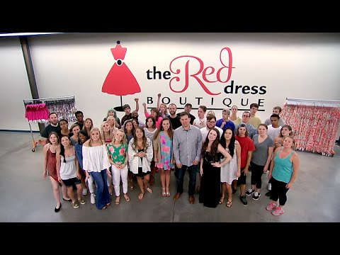 Red dress athens youth
