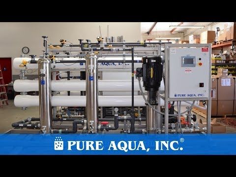 Industrial RO for Irrigation Use USA 72,000 GPD | www.pureaqua.com