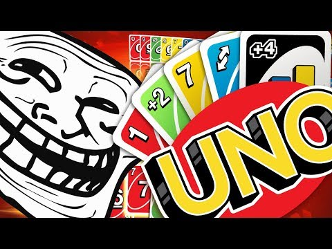 WHY DO MY FRIENDS TROLL ME SO BADLY *RAGE QUIT* - UNO FUNNY MOMENTS