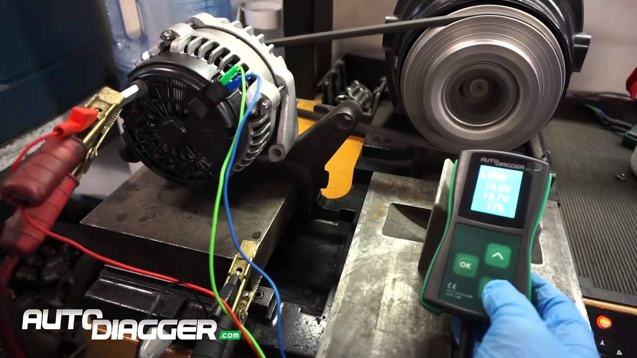 Testing Delco Dr44g Series Ir If Rvc Type
