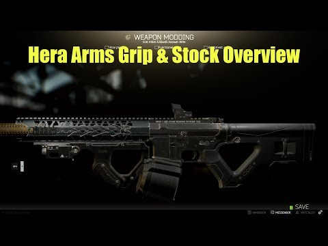 Hera Arms Grip & Stock Overview | Escape From Tarkov Guide