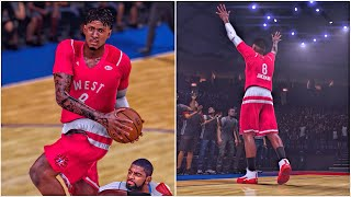 most fun all star game ever   not another buzzer beater   nba 2k16 mycareer