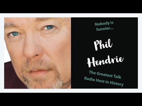 Phil Hendrie The Greatest Radio Talk Show Host in History