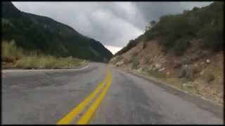North Ogden Divide Descent, road bike.  Top speed 60 mph