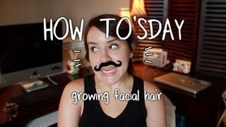 How to Grow Facial Hair!