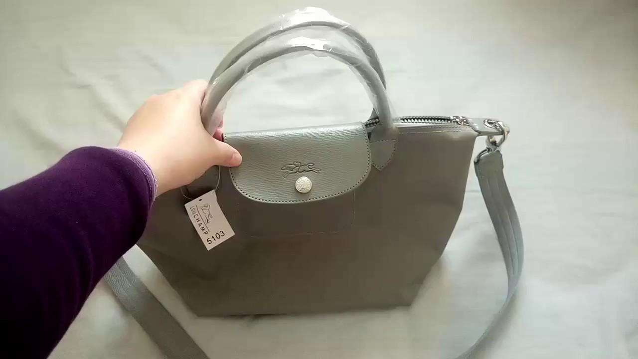 acec33a584d Longchamp Le Pliage Neo Bag - YouTube