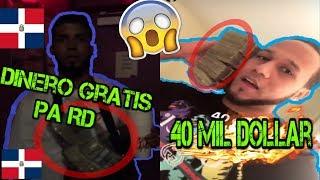 ANUEL aa Regalara dinero A Los pobre en RD y colombia / El Alfa se Busco 40 mil dollar en un Dia