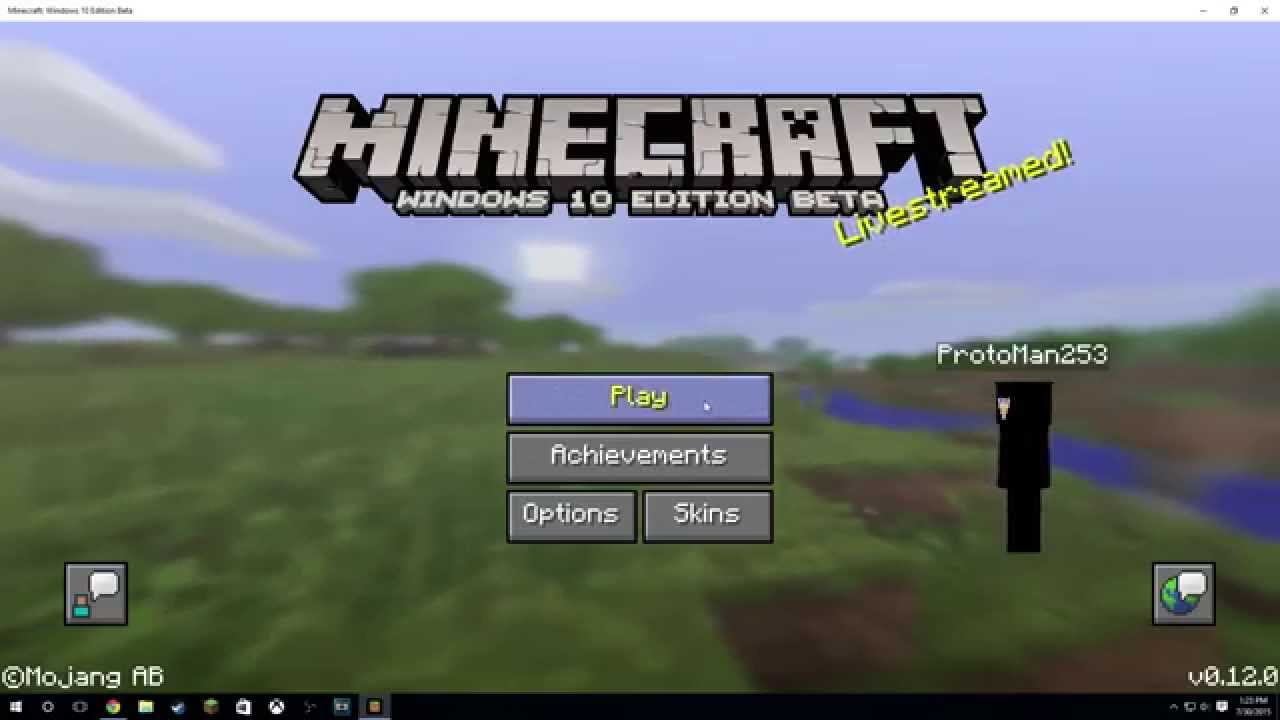 How To Add A Skin To Minecraft Windows Edition Beta YouTube - Skins para minecraft windows 10
