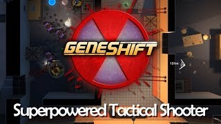 Geneshift Gameplay | Episode 1 - Superpowered Top Down Shooter (Geneshift Coop and Single Player)