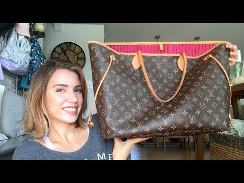 Louis Vuitton Neverfull GM review   Is it worth it??
