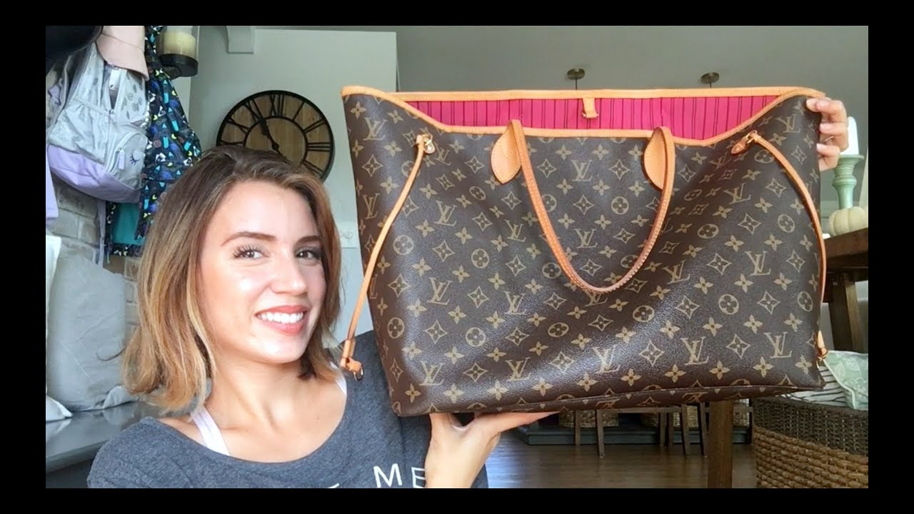 370dc4d98fb Louis Vuitton Neverfull GM review   Is it worth it??