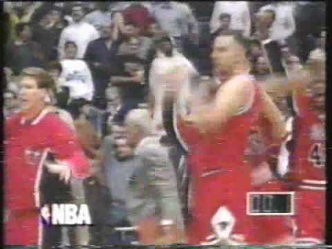 1995 Will Perdue game winner for the Bulls