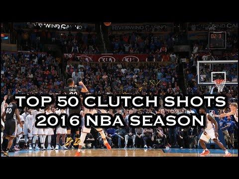 Top 50 Clutch Shots: 2016 NBA Season