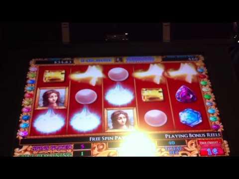 Da Vinci Diamonds Slot Free Spin Bonus Game