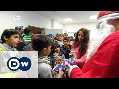 Refugees celebrate Christmas in Germany | DW News