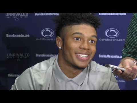 Penn State's Marcus Allen loves watching Saquon Barkley run