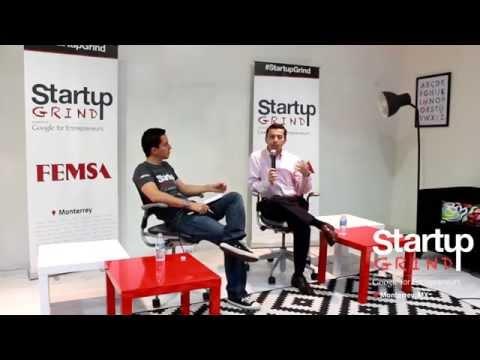 Rogelio de los Santos (Partner Alta Ventures) at Startup Grind Monterrey