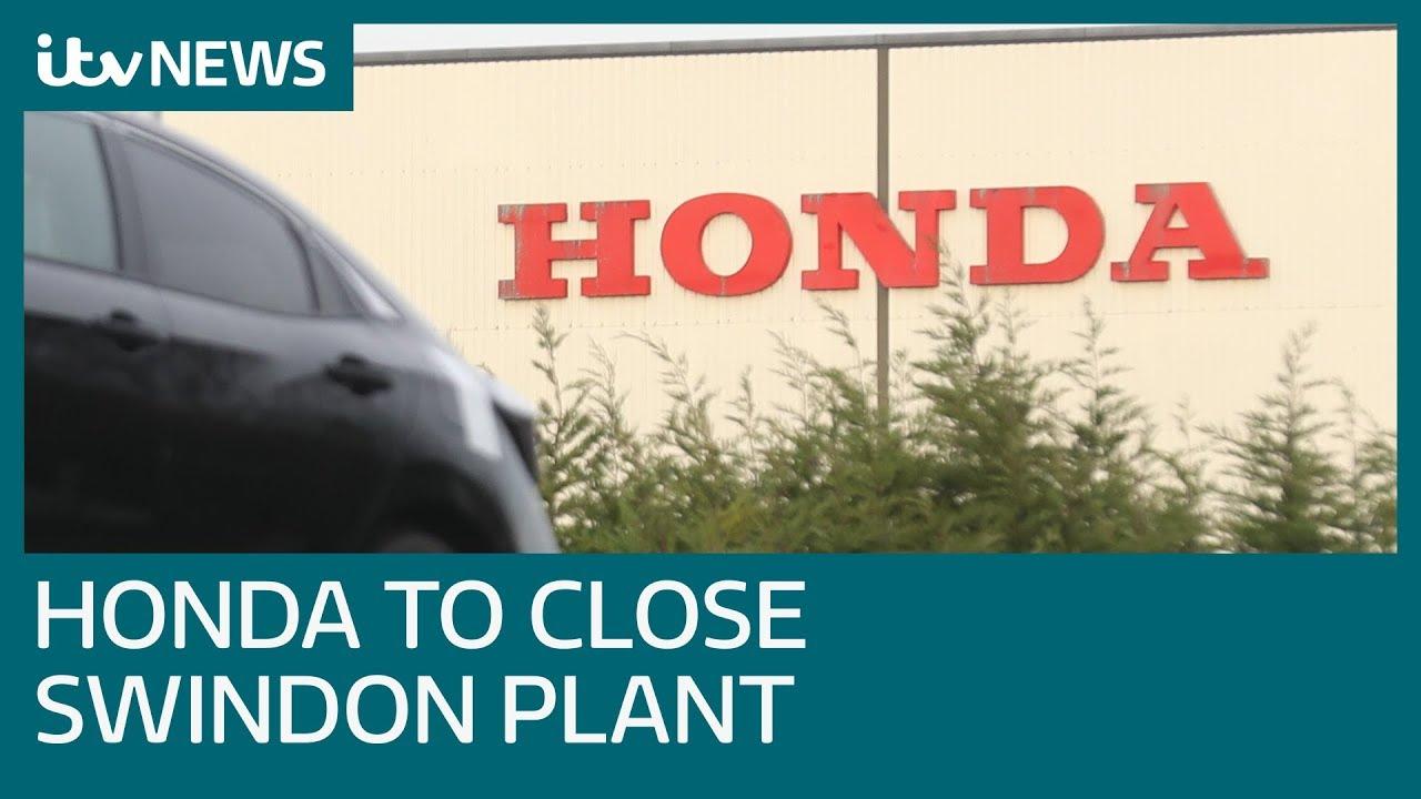Honda to shut sole U K  plant in Swindon, imperiling 3,500