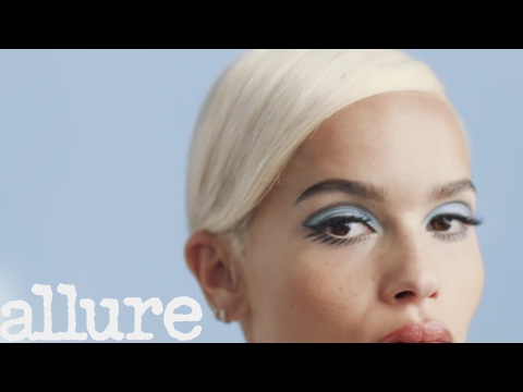 Zoë Kravitz Transforms Into '60s Icon Twiggy  Allure