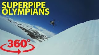 Superpipe skiing: beat the heat in 360