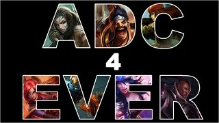 League of legends - How it feels to play ADC.