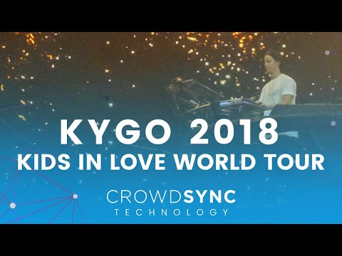 CrowdSync Technology x KYGO - Kids in Love Tour x  LED Wristbands