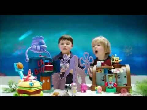 TV Commercial - Fisher Price - Imaginext® - Spongebob Squarepants - Crusty Crab Playset