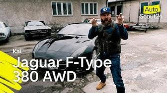 Jaguar F-Type 380 AWD: brutal laut, brutal schnell, brutal viel Spaß!